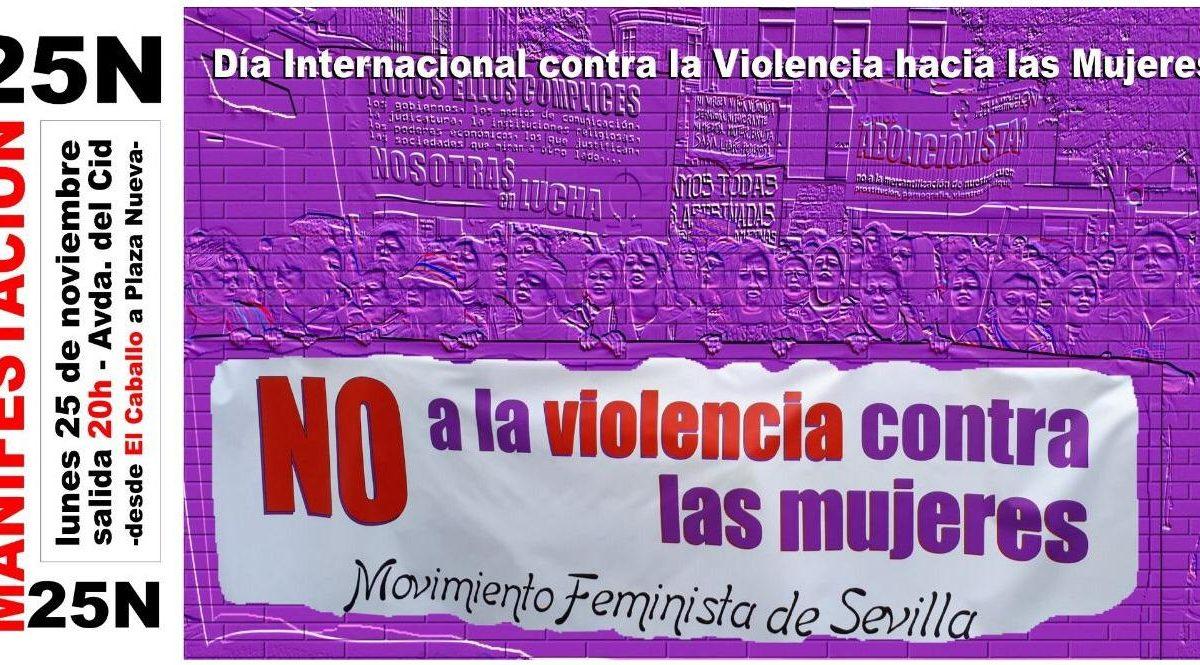 MANIFIESTO SOCIALISTA DIA INTERNACIONAL DE LA ELIMINACIÓN DE LA VIOLENCIA CONTRA LA MUJER