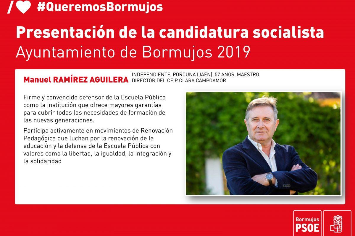 TU CANDIDATURA: MANUEL RAMIREZ. INDEPENDENCIA Y COMPROMISO.