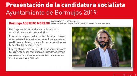 TU CANDIDATURA: DOMINGO ACEVEDO. TENACIDAD, SUPERACIÓN DE RETOS
