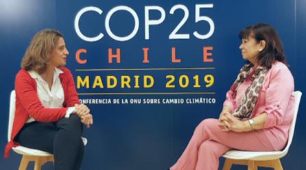 Diálogo con Ribera y Narbona en la COP25