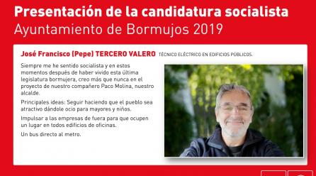 TU CANDIDATURA: PEPE TERCERO. COMPAÑERISMO Y ENERGIA.