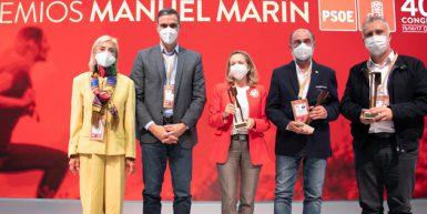 PREMIOS MANUEL MARÍN, RECONOCIMIENTO A COMPAÑEROS SOCIALISTAS.