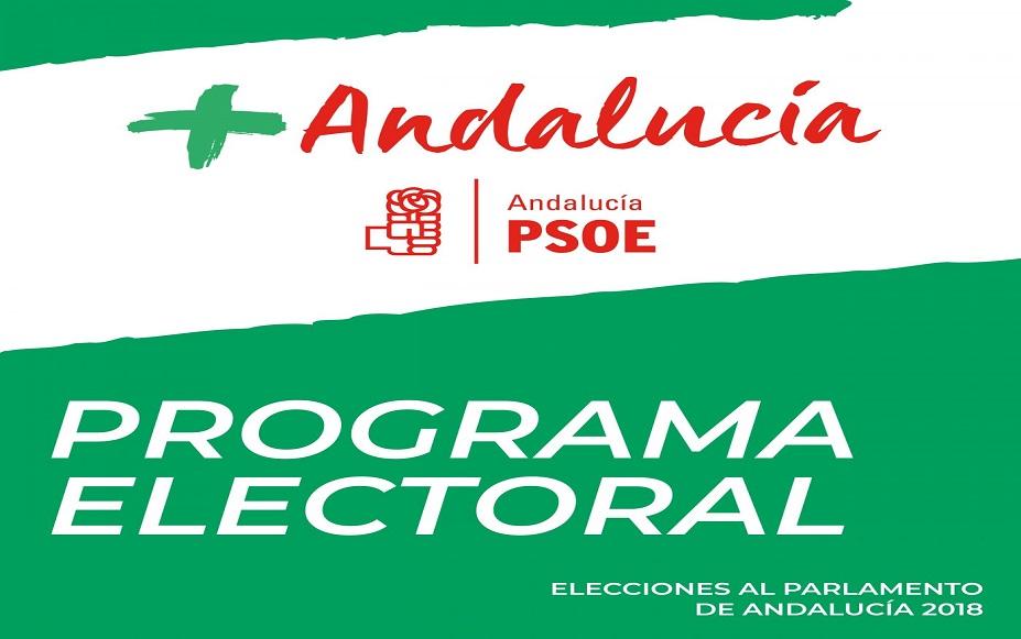 programa electoral psoe-a elecciones andaluzas 2018