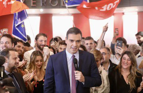 ROTUNDA VICTORIA DE PEDRO SÁNCHEZ EN EL DEBATE ELECTORAL