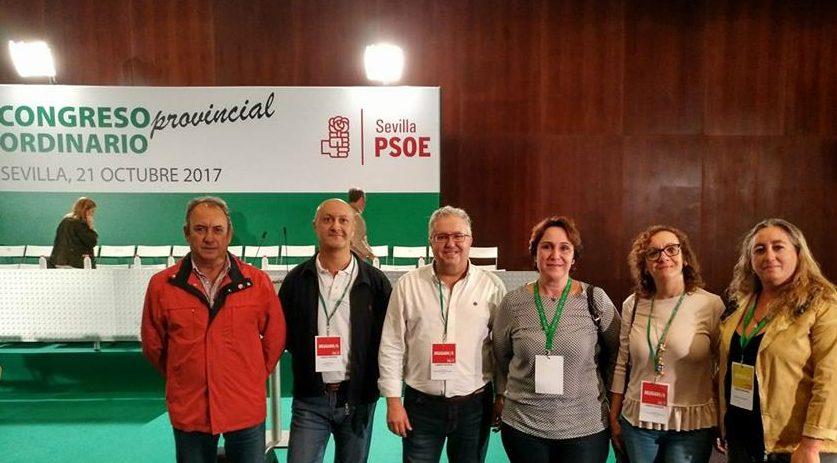 Bormujos en el Congreso Provincial del PSOE de Sevilla 2017