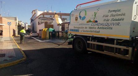 El PSOE-A de Bormujos trabaja desde el equipo de gobierno del Ayuntamiento para mejorar el servicio de recogida de residuos y limpieza que presta la Mancomunidad.