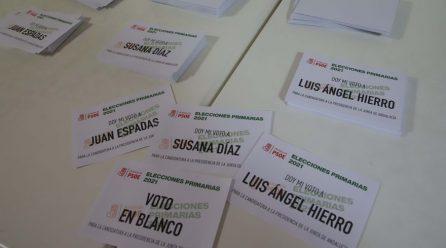 RESULTADO DE LAS PRIMARIAS EN EL PSOE DE ANDALUCIA