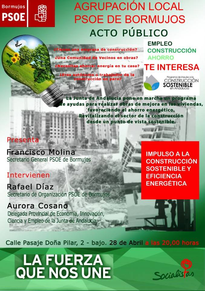 acto construccion sostenible